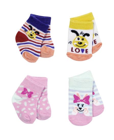 Obrázek z BABY born Ponožky (2 páry), 2 druhy, 43 cm