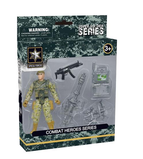 Obrázek z Combat Hero - voják s příslušenstvím