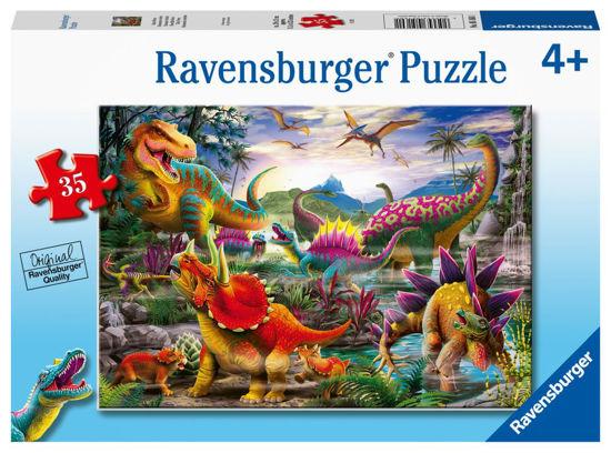 Obrázek z T-Rex puzzle 35 dílků