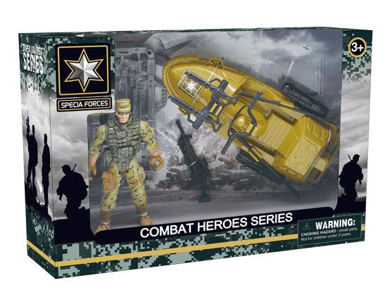 Obrázek z Combat Hero - voják se sněžným skútrem