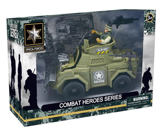 Obrázek z Combat Hero - voják/obrněný transportér
