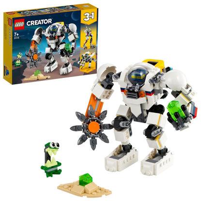Obrázek LEGO Creator 31115 Vesmírný těžební robot