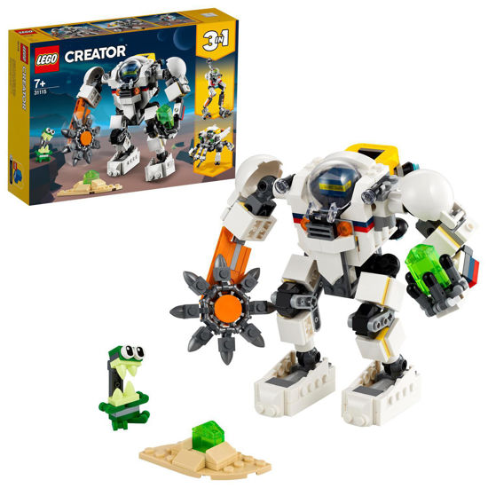Obrázek z LEGO Creator 31115 Vesmírný těžební robot
