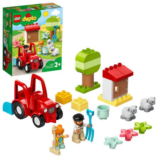 Obrázek z LEGO Duplo 10950 Traktor a zvířátka z farmy