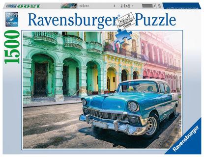 Obrázek Auta na Kubě 1500 dílků