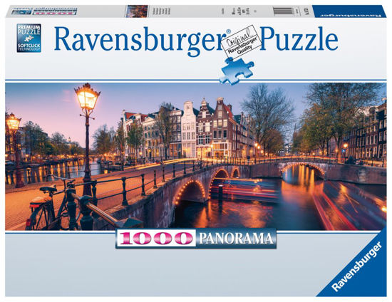 Obrázek z Amsterdam puzzle 1000 dílků Panorama
