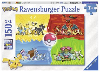 Obrázek puzzle Druhy Pokémonů 150 dílků