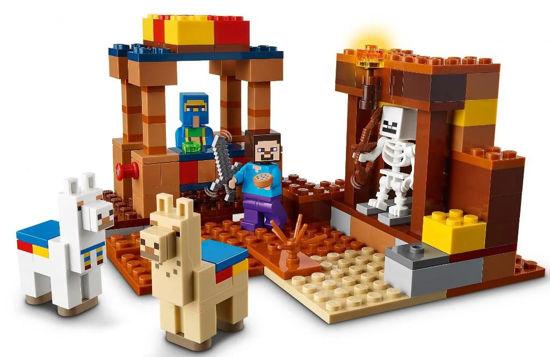 Obrázek z LEGO Minecraft 21167 Tržiště