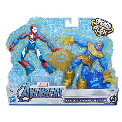 Obrázek Avengers figurka Bend and Flex duopack