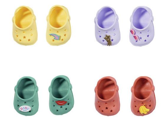 Obrázek z BABY born Gumové sandálky, 4 druhy