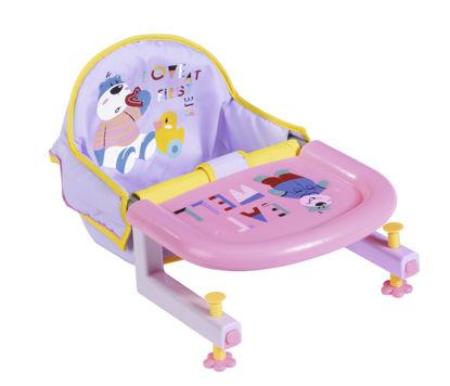 Obrázek BABY born Jídelní židlička s uchycením na stůl