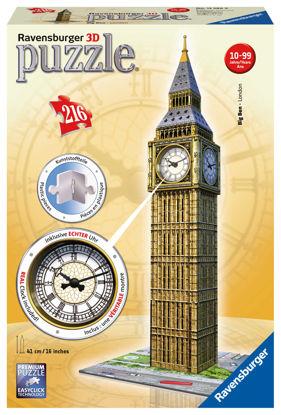 Obrázek Big Ben s hodinami 216 dílků 3D