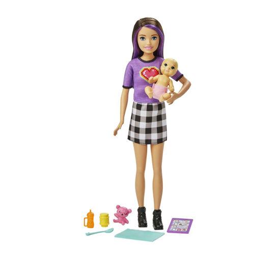 Obrázek z Barbie CHŮVA + MIMINKO s doplňky