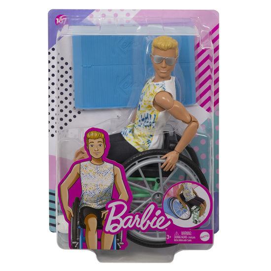 Obrázek z Barbie MODEL KEN na invalidním vozíku
