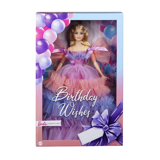 Obrázek z Barbie NAROZENINOVÁ panenka