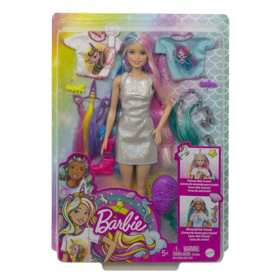 Obrázek z Barbie PANENKA s pohádkovými vlasy