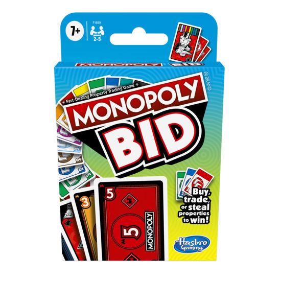 Obrázek z Karetní hra MONOPOLY BID