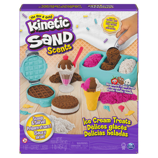 Obrázek z KINETIC SAND voňavé kopečkové zmrzliny