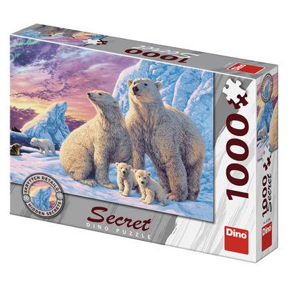 Obrázek LEDNÍ MEDVĚDI 1000 secret collection Puzzle NOVÉ