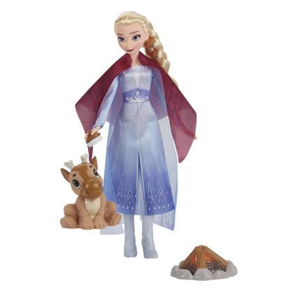 Obrázek LEDOVÉ KRÁLOVSTVÍ 2 panenka Elsa - přátelé u táboráku