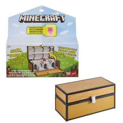 Obrázek Minecraft SBĚRATELSKÝ KUFŘÍK na mini figurky