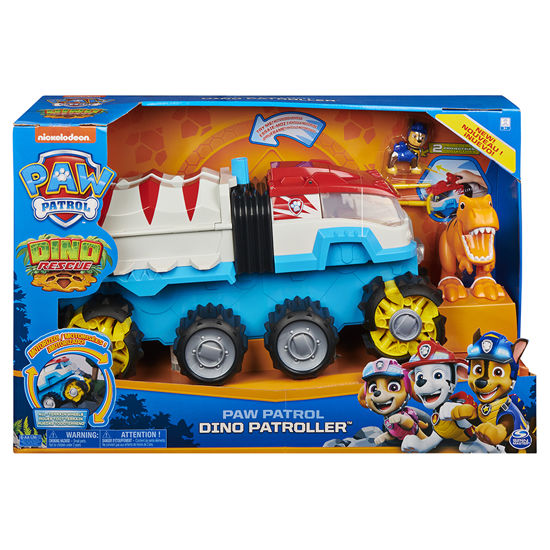 Obrázek z PAW PATROL DINO velký teréní náklaďák