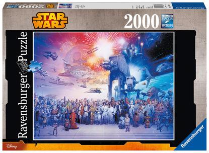 Obrázek Star Wars  puzzle vesmír 2000 dílků