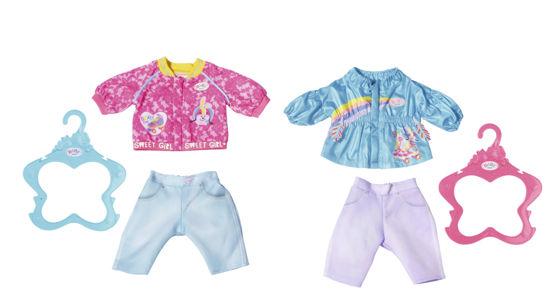 Obrázek z Starší sestřička BABY born Bunda a kalhoty, 2 druhy, 43 cm