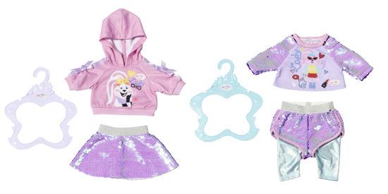 Obrázek z Starší sestřička BABY born Módní oblečení, 2 druhy, 43 cm