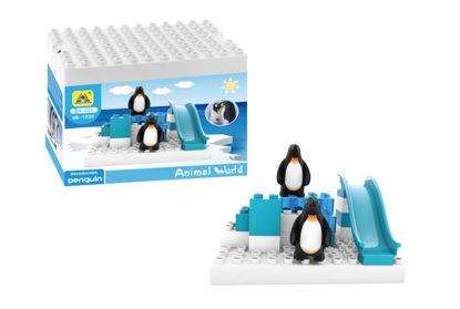 Obrázek Stavebnice Kostky - tučňák
