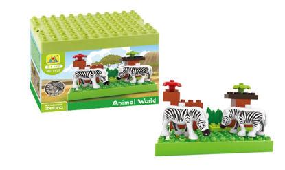 Obrázek Stavebnice Kostky - zebra