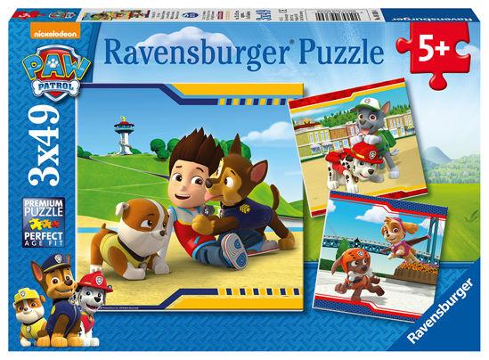 Obrázek z Tlapkova Patrola puzzle 3x49 dílků