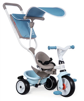 Obrázek Tříkolka Baby Balade Plus modrá