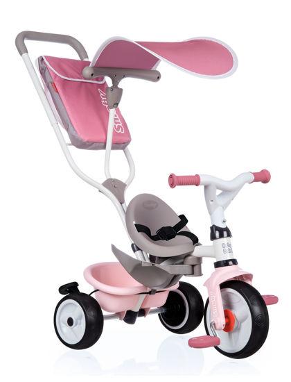 Obrázek z Tříkolka Baby Balade Plus růžová