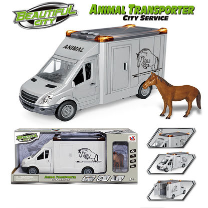Obrázek Vůz transport koní
