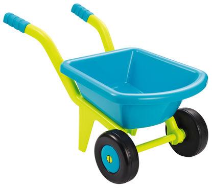 Obrázek Zahradní dětské kolečko žlutomodré