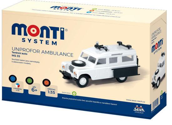 Obrázek z Stavebnice Unprofor Ambulance