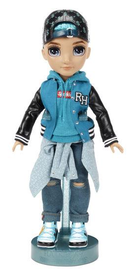 Obrázek z Rainbow High Fashion panenka - River Kendall (kluk)