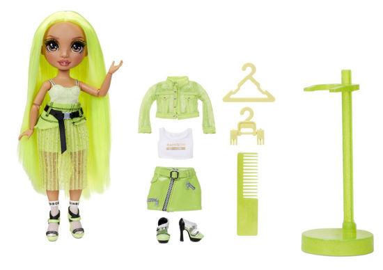 Obrázek z Rainbow High Fashion panenka - Karma Nichols (Neon)