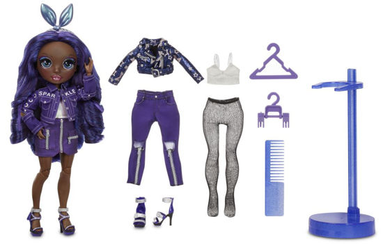 Obrázek z Rainbow High Fashion panenka - Krystal Bailey (Indigo)