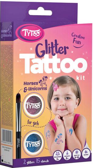 Obrázek z Třpytivé tetování TyToo Horses and Unicorns