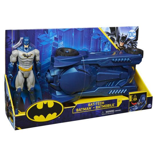 Obrázek z BATMAN BATMOBILE s figurkou