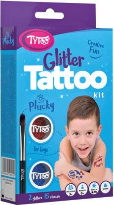Obrázek Třpytivé tetování TyToo Plucky