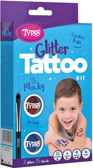 Obrázek z Třpytivé tetování TyToo Plucky