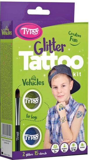 Obrázek z Třpytivé tetování  TyToo Vehicles