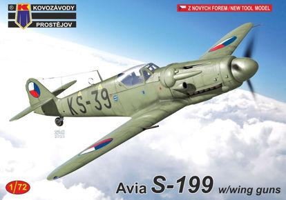 Obrázek Stavebnice Avia S-199 w/with guns