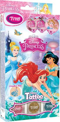 Obrázek Třpytivé tetování TyToo Disney Princesses
