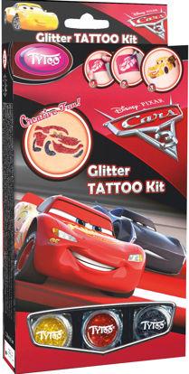 Obrázek Třpytivé tetování TyToo Disney Cars