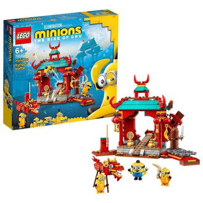 Obrázek LEGO Mimoni 75550 Mimoňský kung-fu souboj