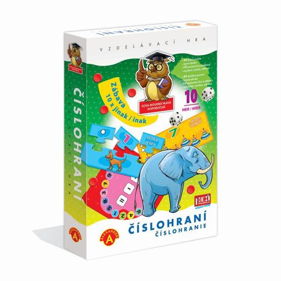 Obrázek z PEXI ČÍSLOHRANÍ (10 her v 1) - vzdělávací hra